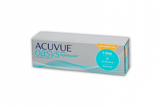 1-DAY ACUVUE Oasys HydraLuxe for astigmatism (30) 8.5