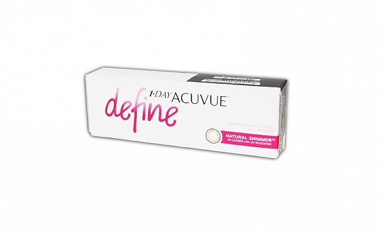 1-DAY ACUVUE define NATURAL SHIMMER (30) 8.5