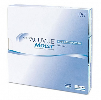 1-DAY ACUVUE MOIST for astigmatism (90) упак.
