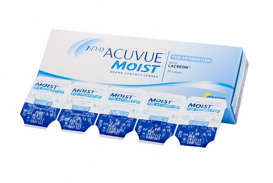 1-DAY ACUVUE MOIST for astigmatism (30) (ПОД ЗАКАЗ)