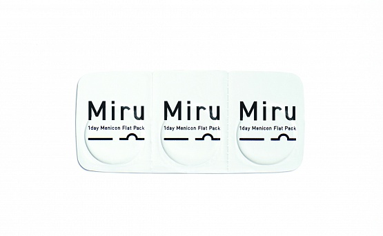 Miru 1 day Menicon Flat Pack (30) 8.6  (фото 2)