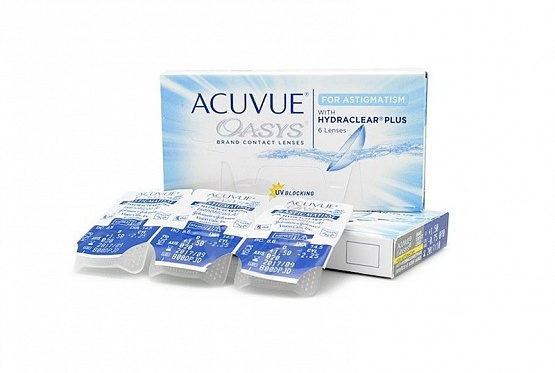 ACUVUE Oasys for astigmatism (фото 2)