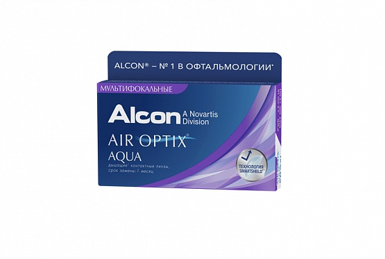 AIR OPTIX Aqua MULTIFOCAL (ПОД ЗАКАЗ)