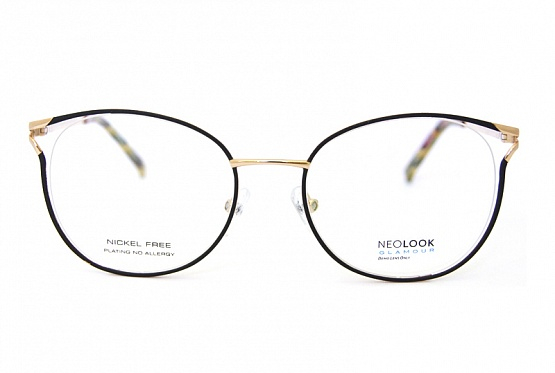 Neolook glam. оправа медицинская + футляр N-7845 с022